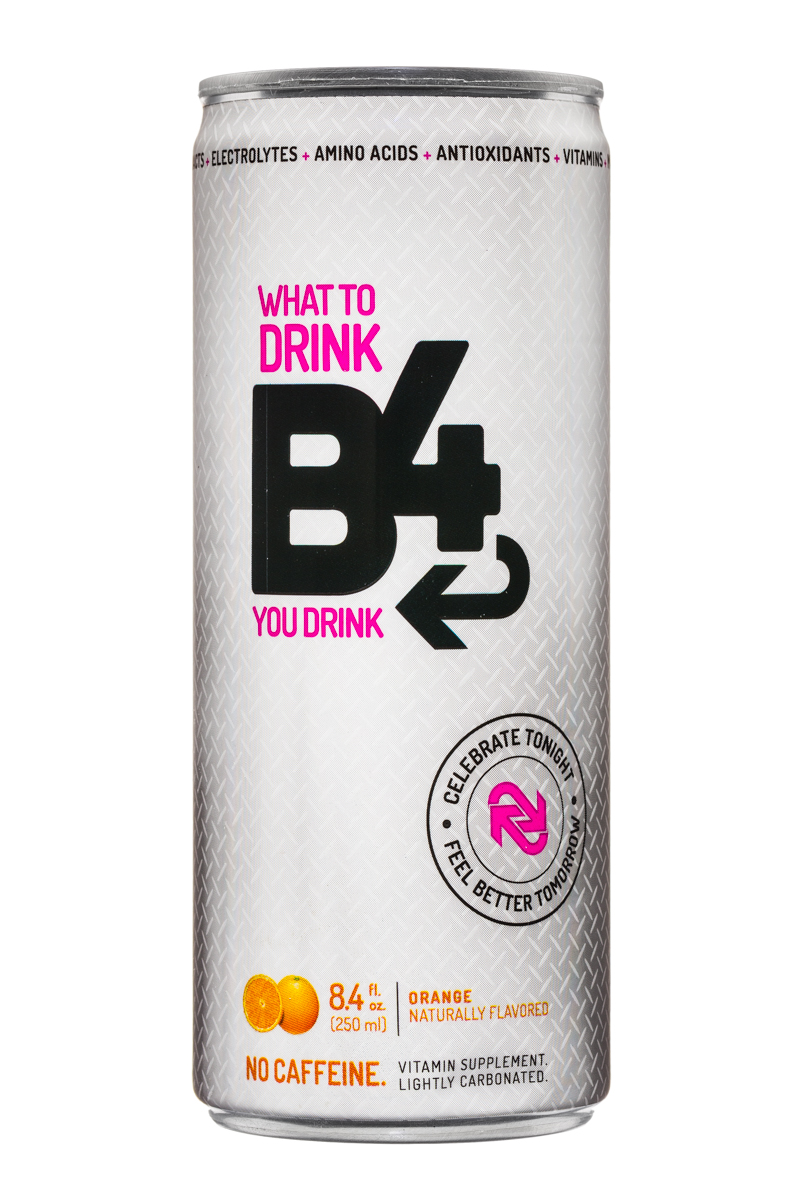 B4: SunshineSupplements-WhatToDrinkB4YouDrink-8oz-Orange-Front