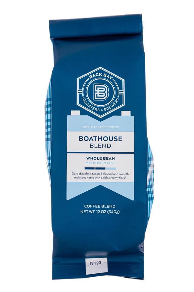 Back Bay Roasters: BackBayRoasters-12oz-BoathousBlend