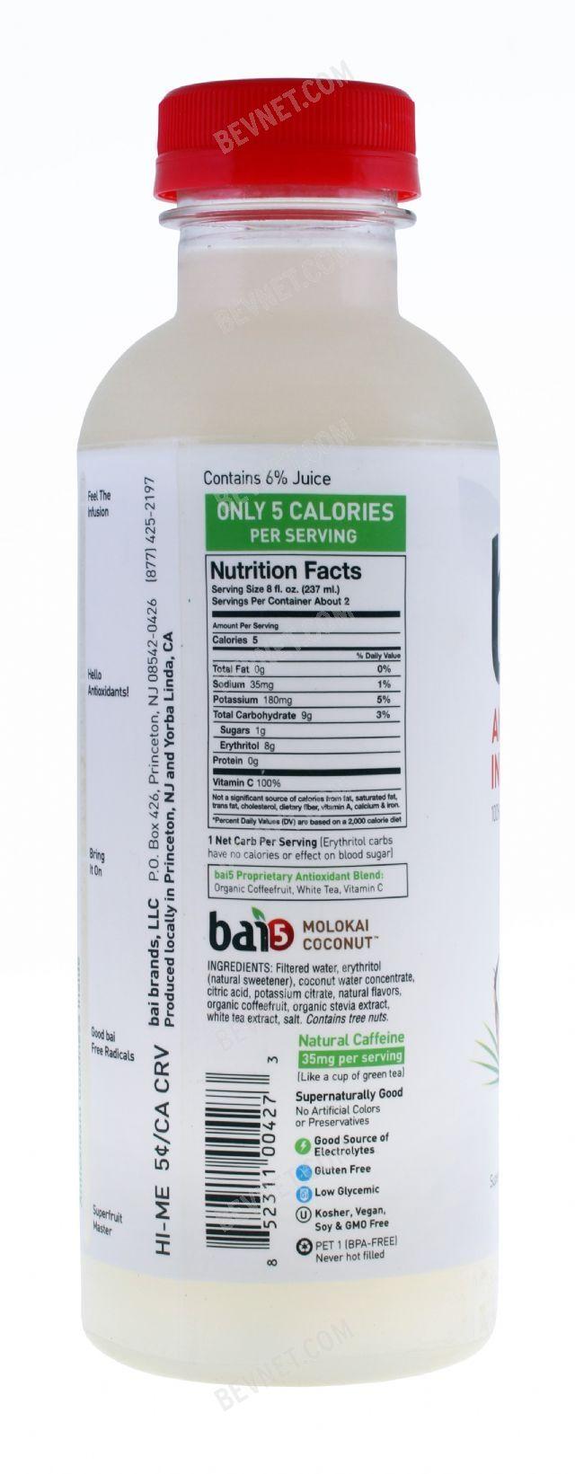 Bai Coconut Water En Energy Drink