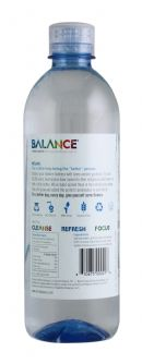 Balance Water: Balance Relax Facts SM