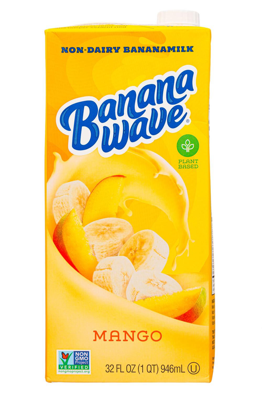 Banana Wave: BananaWave-32oz-2020-Milk-Mango-Front