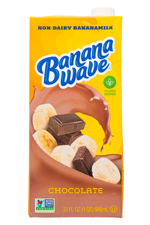 Banana Wave: BananaWave-32oz-2020-Milk-Choc-Front