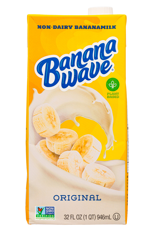 Banana Wave: BananaWave-32oz-2020-Milk-Original-Front