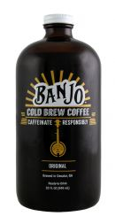 Banjo Cold Brew Coffee: Banjo Front