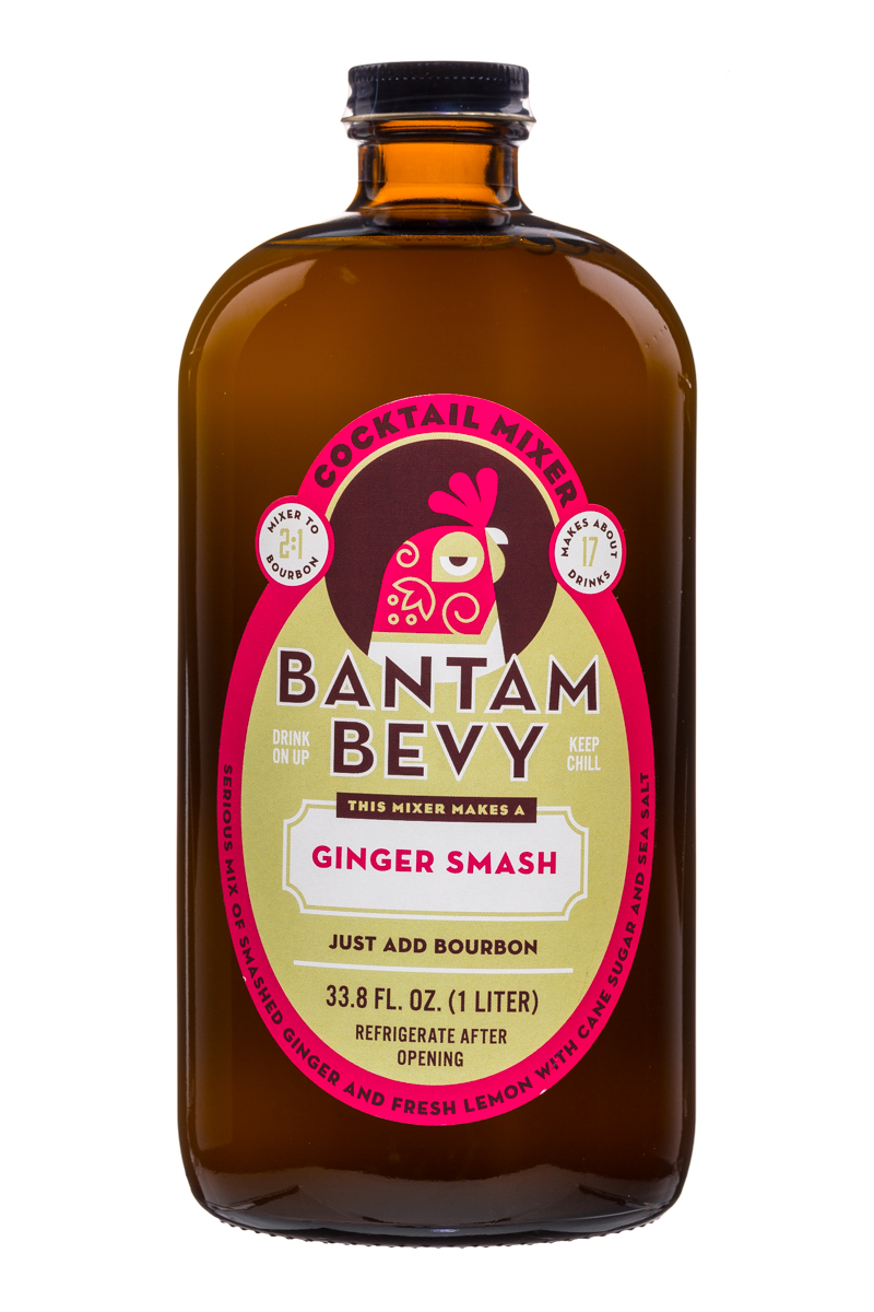 Bantam Bevy: BantamBevy-34oz-Mixer-GingerSmash-Front