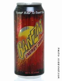 Banzai Energy Drink