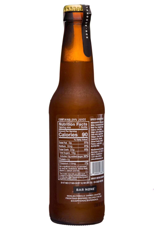 Bar None: BarNone-12oz-NonAlcSparkling-SpicedGingerMule-Facts