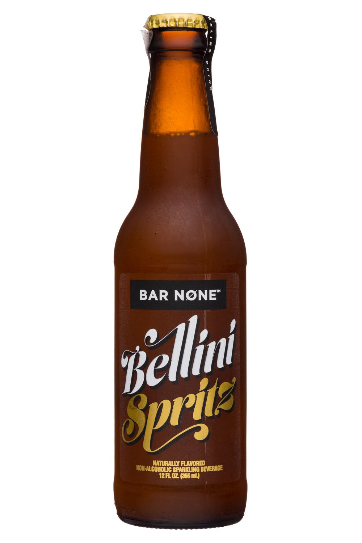 Bar None: BarNone-12oz-NonAlcSparkling-BelliniSpritz-Front