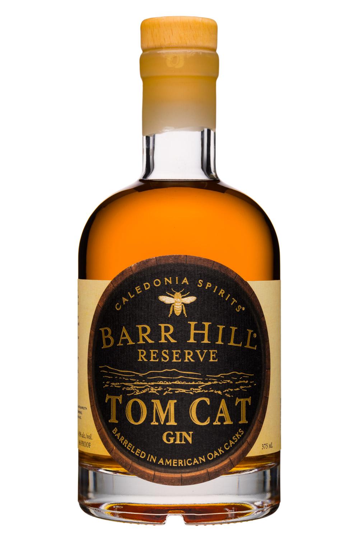 Barr Hill Gin: CaledoniaSpirits-365ml-BarHill-TomCatGin