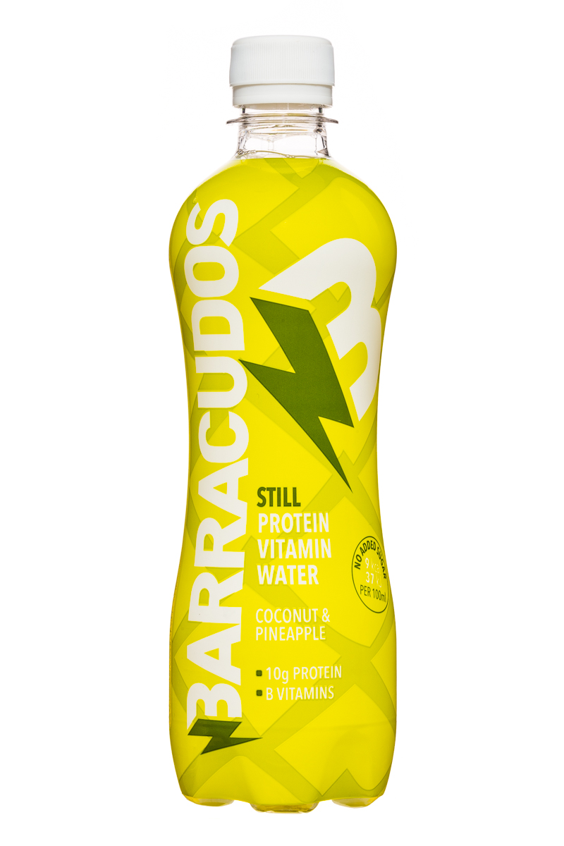 Barracudos: Barracudos-ProteinVitaminWater-CoconutPineapple-Front