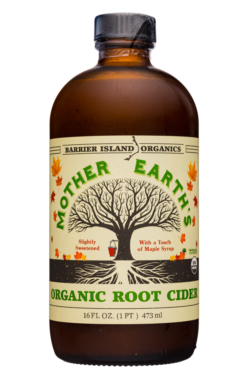 Mother Earth's Organic Root Cider - Sweetened