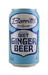 Barritts Diet Ginger Beer - 12oz Can