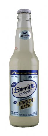 Barritts Diet Ginger Beer - 12oz Glass