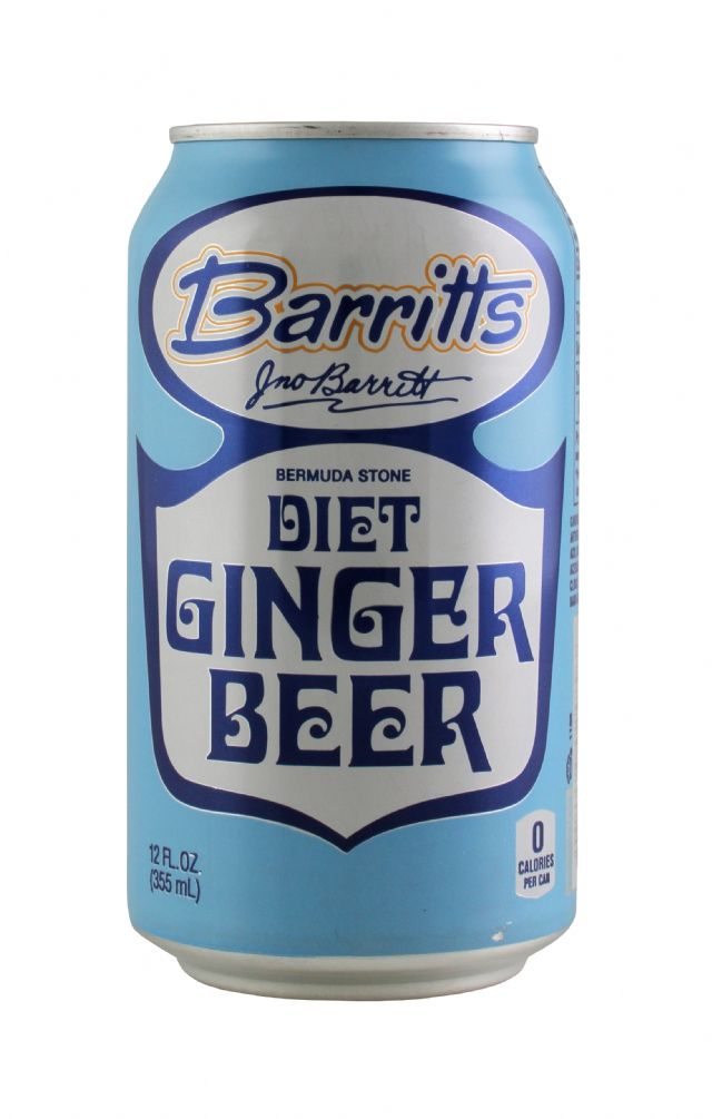 Barritts Ginger Beer: Barritts DietCan Front