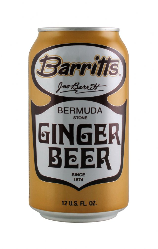 Barritts Ginger Beer: Barritts GingerCan Front