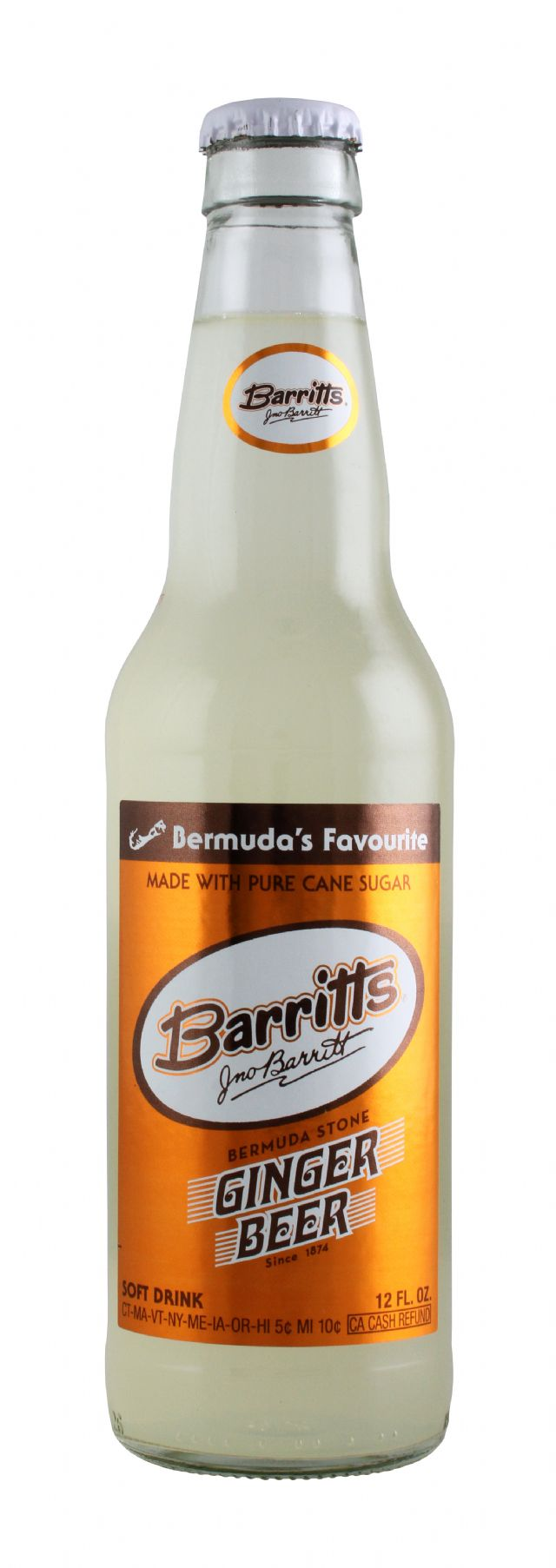 Barritts Ginger Beer: Barritts GingerBeer Front