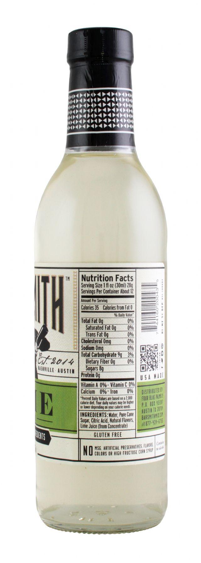 Barsmith: BarSmith Lime Facts