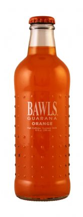 BAWLS Guarana Orange - 10 Oz