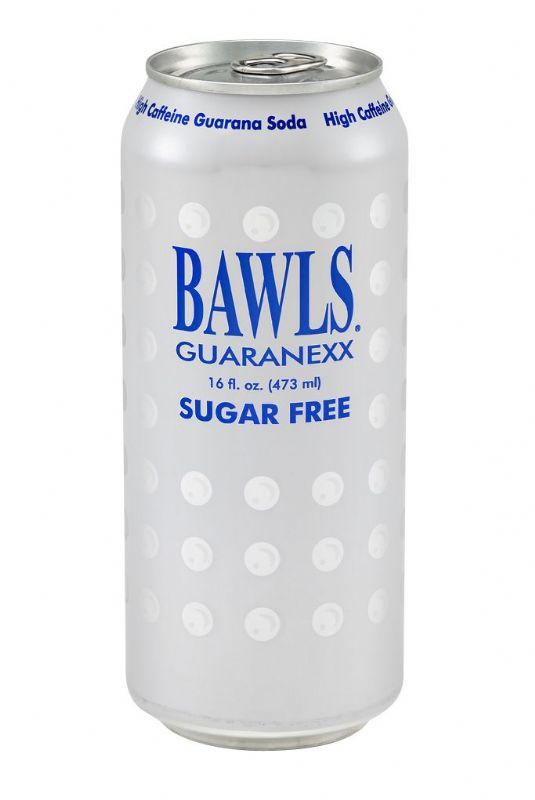 BAWLS Guarana: BAWLS Guaranexx 16 oz Can