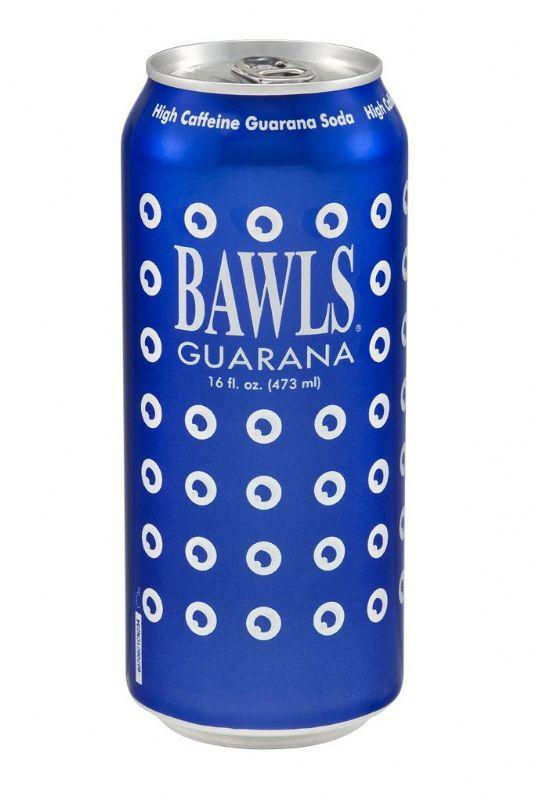 BAWLS Guarana: BAWLS Guarana 16 oz Can