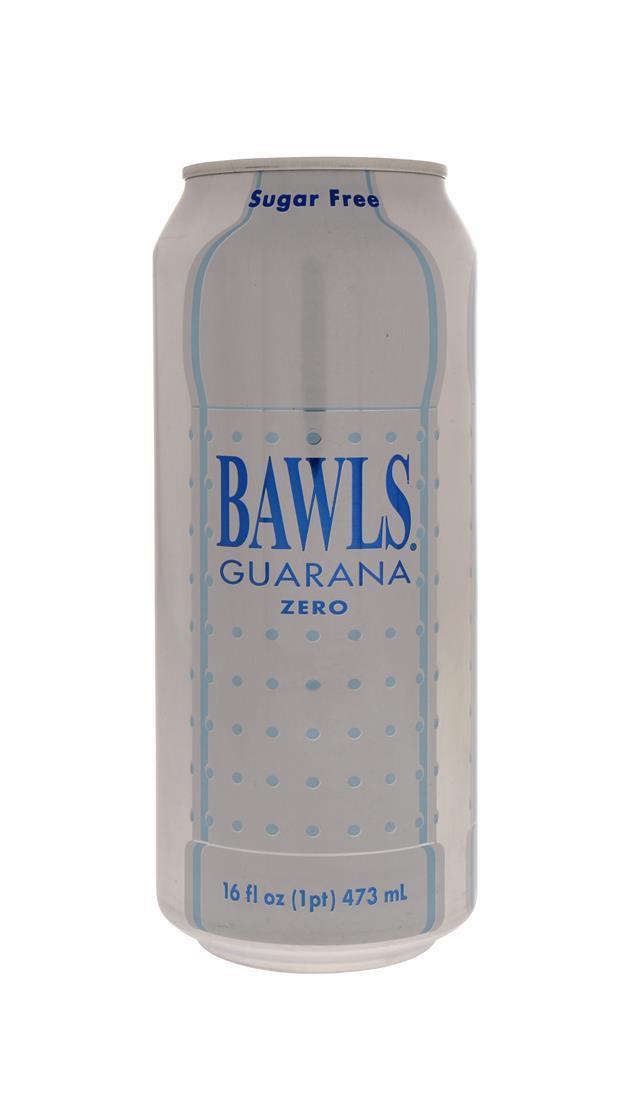 BAWLS Guarana: Bawls Zero Front