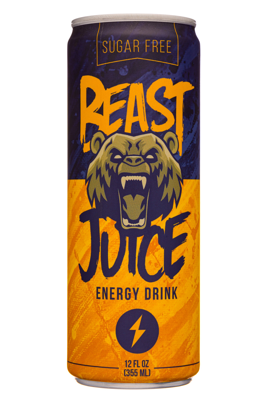Beast Juice: BeastJuice-12oz-2020-EnergyDrink-Front