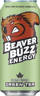 Beaver Buzz Energy: green-tea-no-water