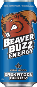 Beaver Buzz Energy: sask-berry-no-water