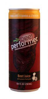 Beet Juice with Passion Fruit Juice