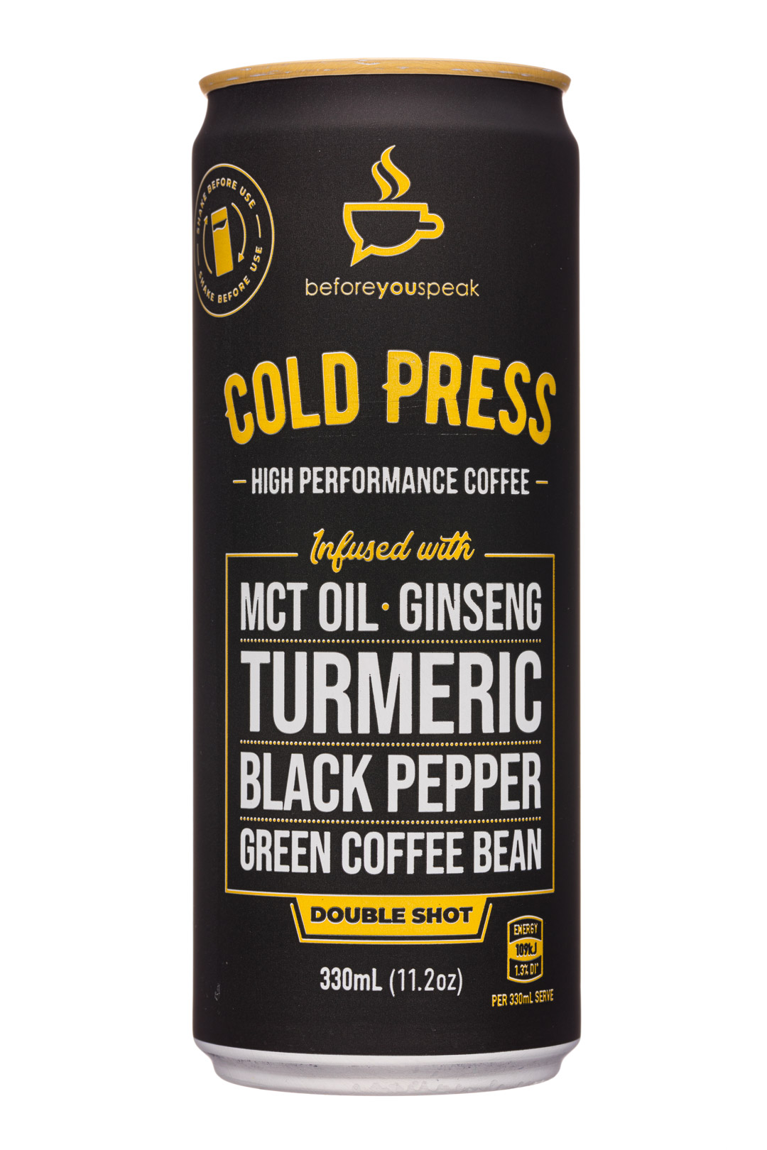 Cold Press High Performance Coffee - Double Shot