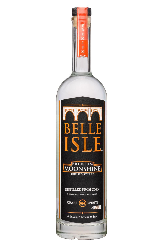 Belle Isle Craft Spirits: BelleIsle-750ml-Moonshine