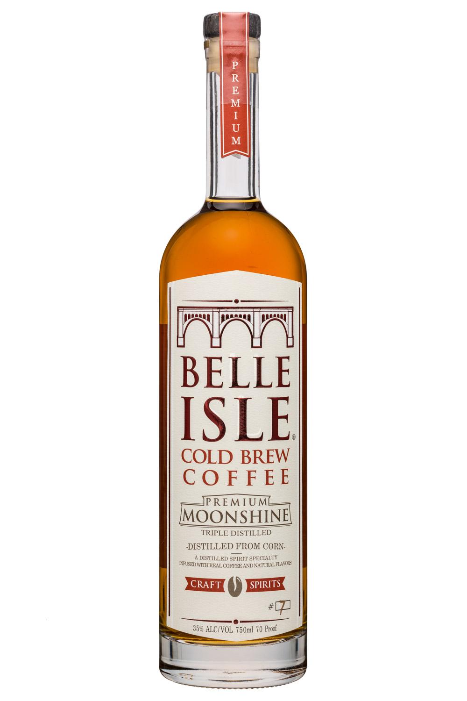 Belle Isle Craft Spirits: BelleIsle-750ml-Moonshine-ColdBrewCoffee
