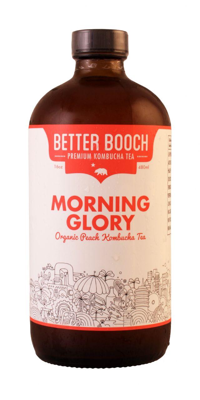 Better Booch Premium Kombucha Tea: BetterBooch Morning Front