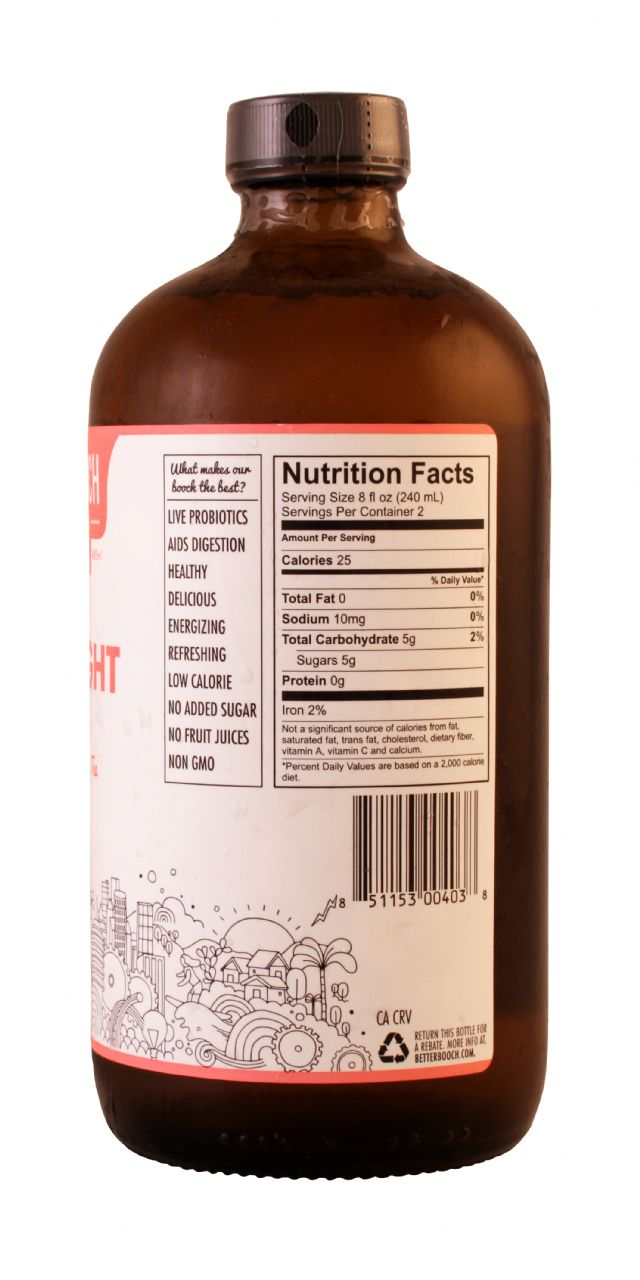 Better Booch Premium Kombucha Tea: BetterBooch Goodnight Facts