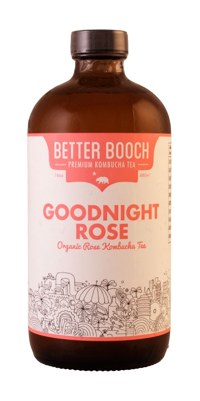Better Booch Premium Kombucha Tea: BetterBooch Goodnight Front