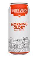 Better Booch Premium Kombucha Tea: BetterBooch-16oz-MorningGlory-Front