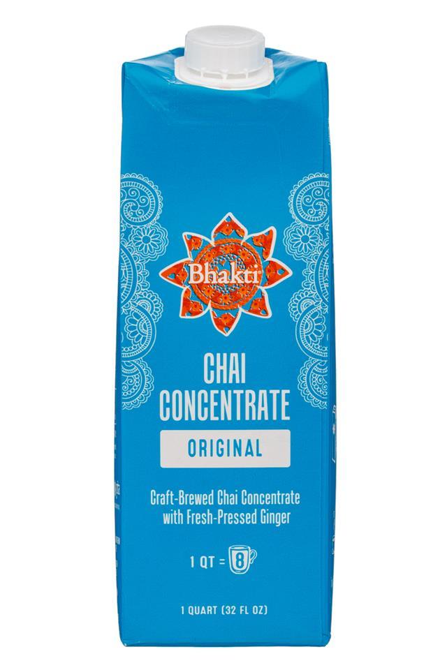 Bhakti Chai: Bhakti-32oz-Concentrate-Original-Front