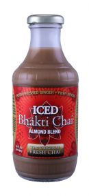 Bhakti Chai: Bhaktichai Almond Front
