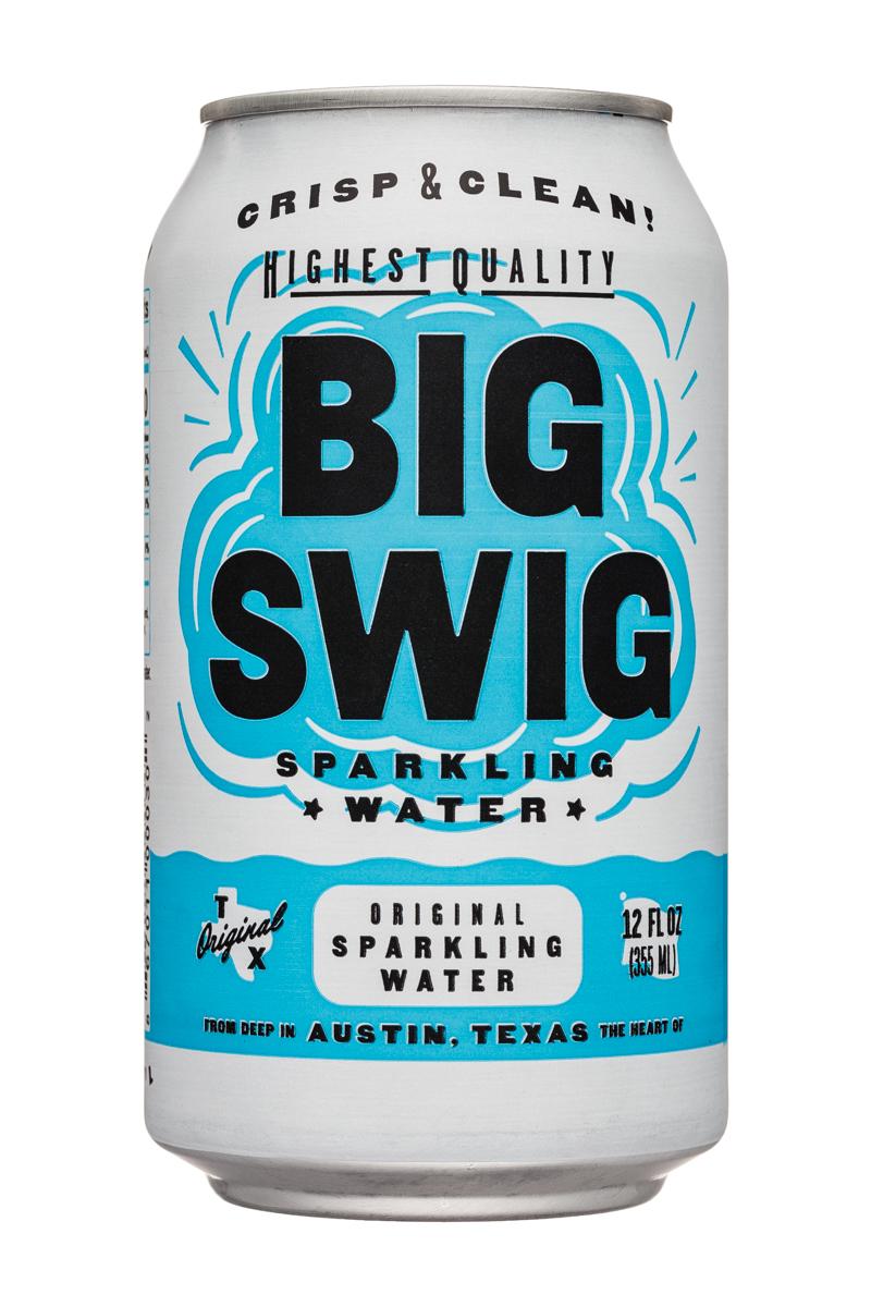Big Swig: BigSwig-12oz-SparklingWater-Original-Front