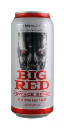 Big Red Soda: BigRed Terminator Front