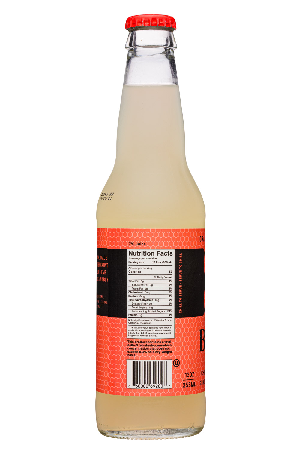 Bimble: Bimble-12oz-2020-Sparkling-GrapefruitBasilMint-Facts