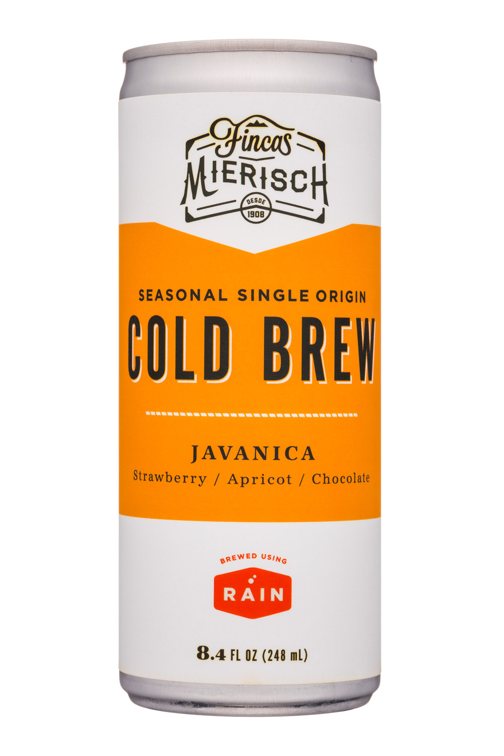 Bird Rock Coffee: Rain-8oz-ColdBrew-Javanica-Front