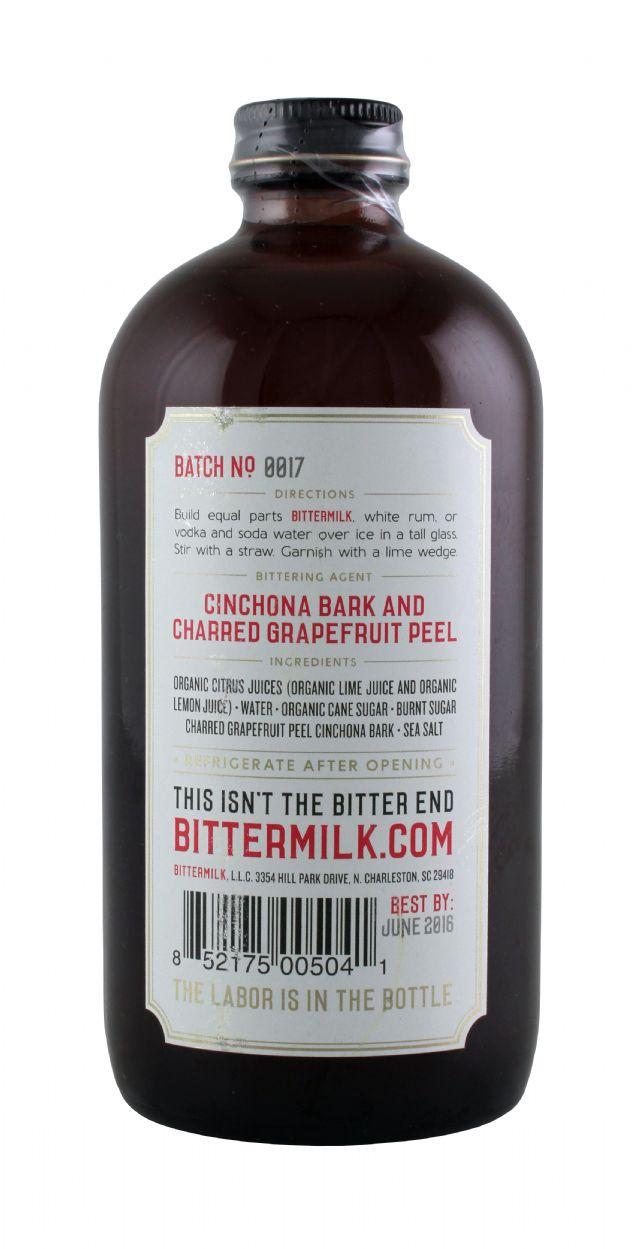 Bittermilk: Bittermilk CharGrape Facts