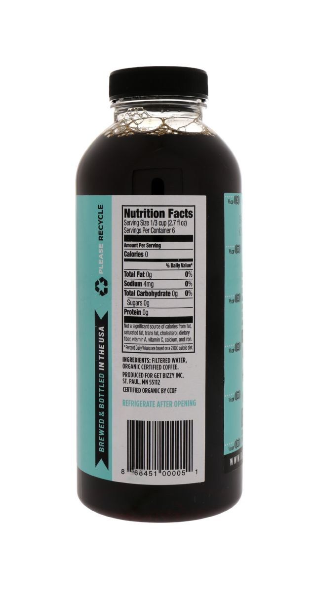 Bizzy Coffee Concentrate: Bizzy Facts