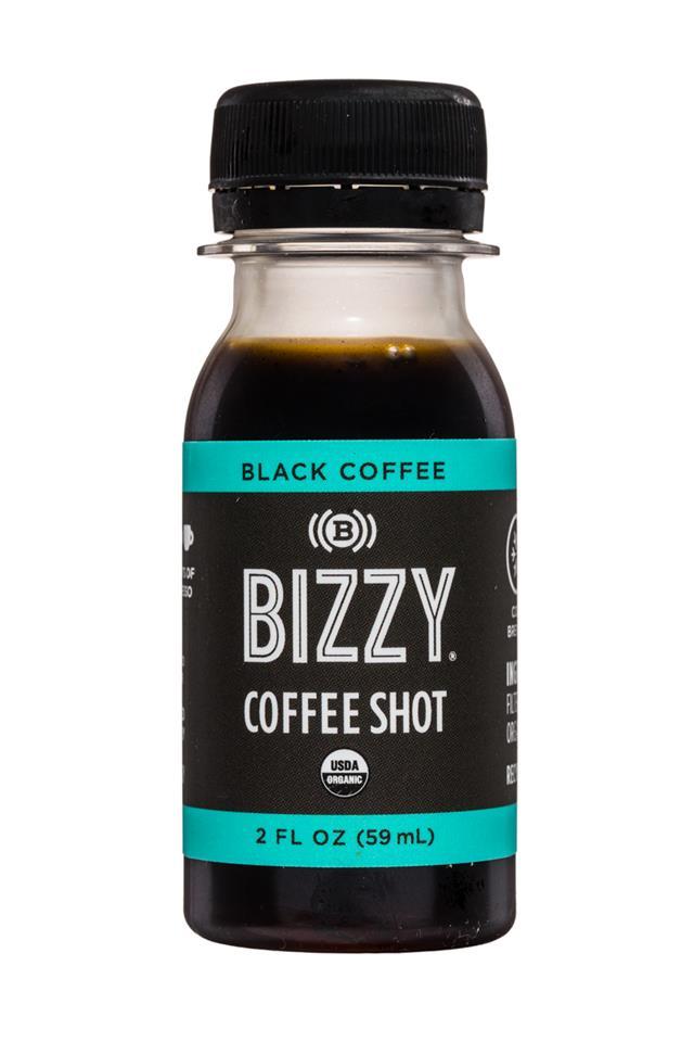 Bizzy Coffee Shots: Bizzy-2oz-CoffeeShot-Black-Front