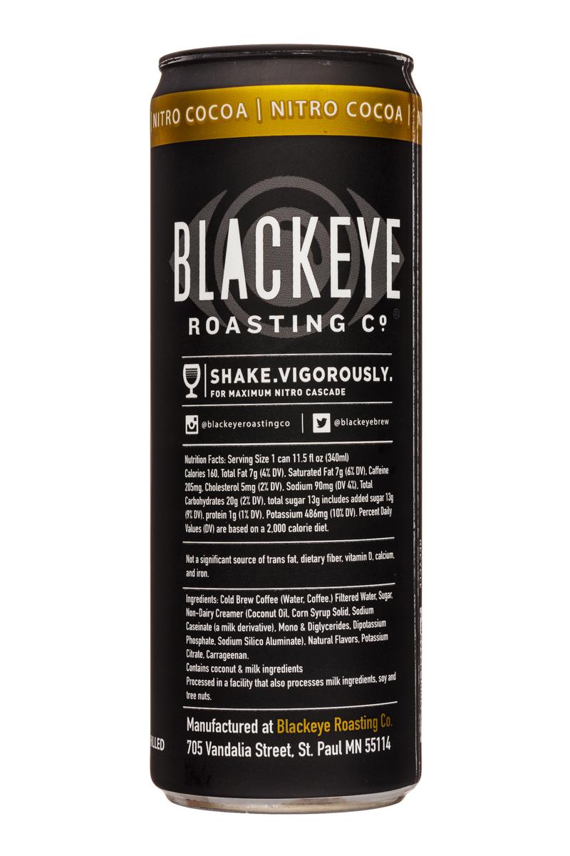 Blackeye Roasting Co: BlackeyeRoastingCo-12oz-NitroCocoa-Facts