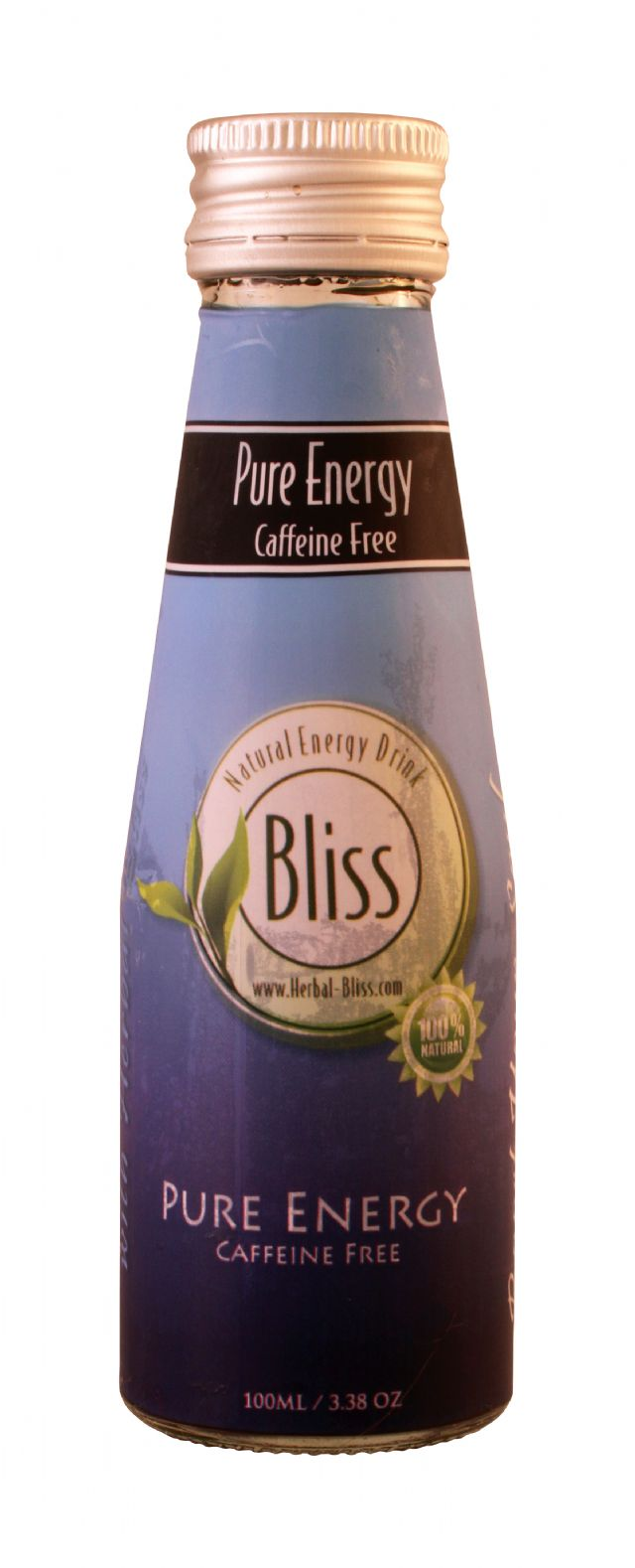 Bliss Natural Energy Drink: Bliss CaffeineFree Front