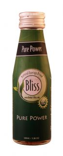 Bliss Natural Energy Drink: Bliss PurePower Front