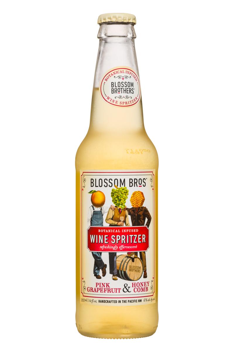 Wine Spritzer - Pink Grapefruit & Honey Comb