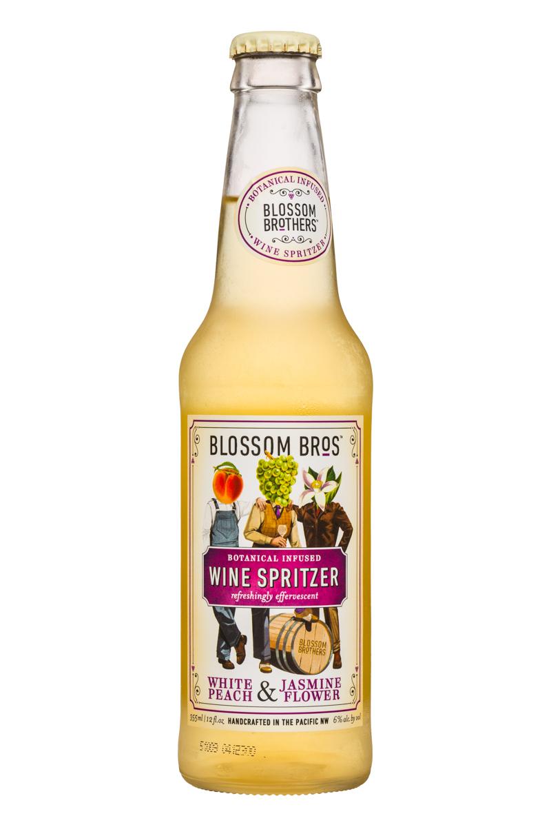 Wine Spritzer - White Peach & Jasmine Flower